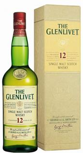 The Glenlivet Scotch Single Malt 12 Year 1.00l